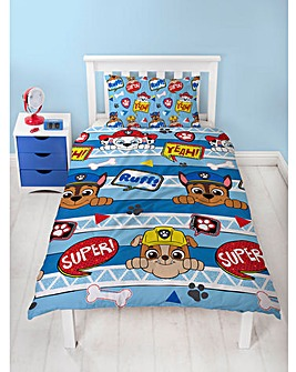 Paw Patrol Peek Single Rotary Duvet