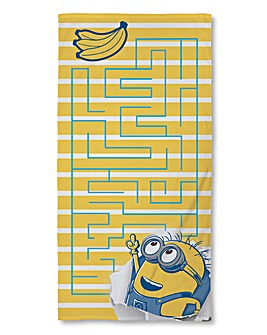 Despicable Me Awesome Towel