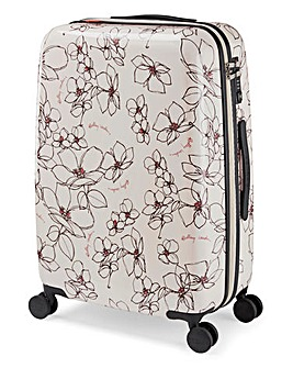 Radley Linear Flower Medium 4 Wheel Case