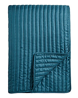 Stitch Quilted Throw 240 x 260cm