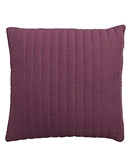 Stitch Quilted Cushion 43 x 43cm
