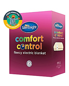 Silentnight Comfort Control Fleece Electric Blanket