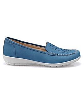 f46ab6e3f8ed Hotter Jazz Wide Fit Slip On Pump