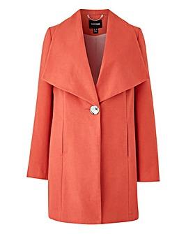 Blush Large Collar Coat