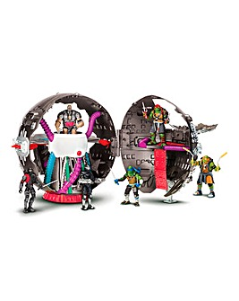TMNT Movie 2 Technodome Playset