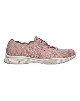 Skechers Seager Try Outs Lace Up Leisure Shoes Standard D Fit