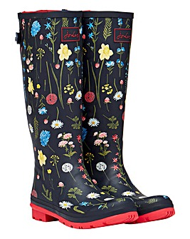 Joules Spring Flowers Wellies