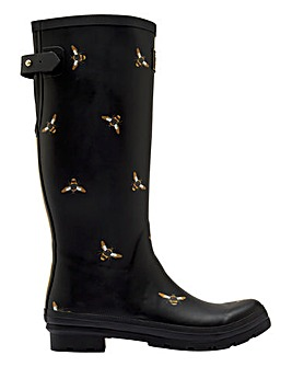 Joules Metallic Bees Wellies