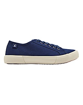 Joules Coast Canvas Lace Up Leisure Shoes Standard D Fit