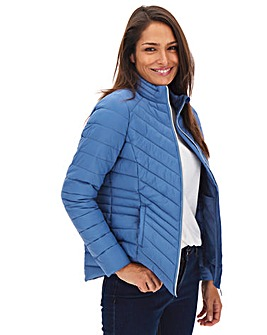 Denim Blue Lightweight Padded Jacket