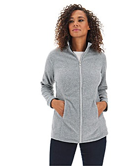Grey Marl Fleece Jacket