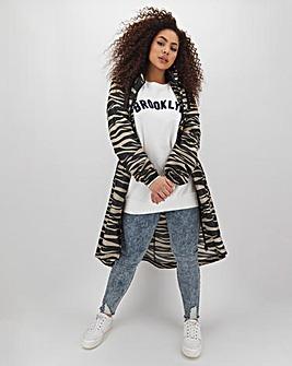 Zebra Parachute Parka