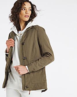 Khaki Utility Jacket