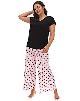 Pretty Secrets Wide Leg Pyjama Set