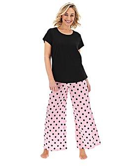 Pretty Secrets Wide Leg Pyjama Set