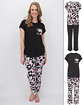 Pretty Secrets 2 Pk Pyjama Sets