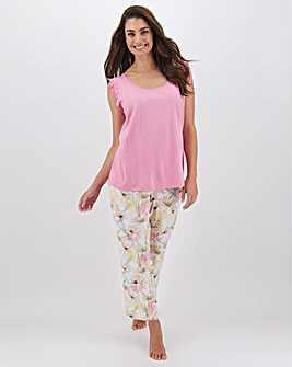 Pretty Secrets Value Frill Vest PJ Set