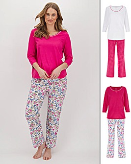 Pretty Secrets Pk 2 Pyjama Sets