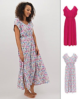 Pretty Secrets Pack 2 Maxi Kaftans