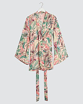 Pretty Secrets Dramatic Sleeve Robe
