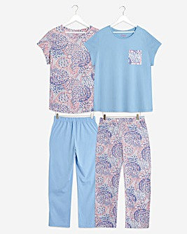 Pretty Secrets 2 Pack Short Pyjama Sets