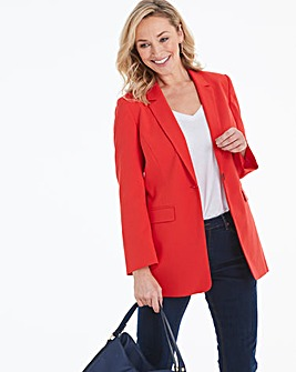 Mix and Match Red Fashion Blazer
