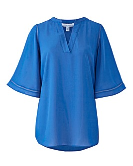 Blue Ladder Insert Tunic