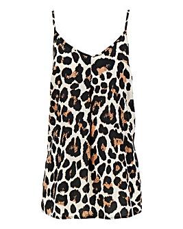 c07a8b85df27e2 Leopard Print Strappy Cami