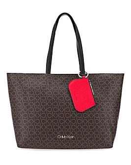 Calvin Klein Medium Shopper Mono Bag