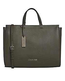 Calvin Klein Enfold Camo Tote Bag