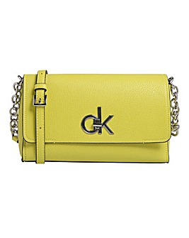 Calvin Klein Re-lock Flap Cross Body