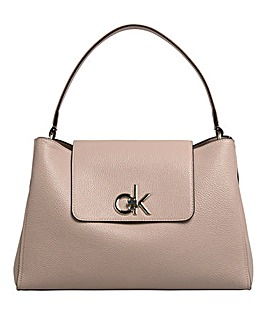 Calvin Klein Re-lock Top Handle Satchel