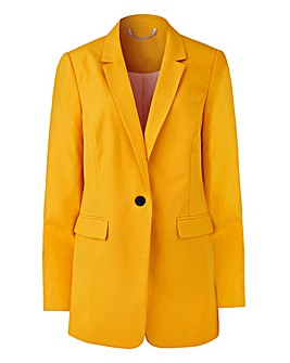 Mix and Match Ochre Fashion Blazer