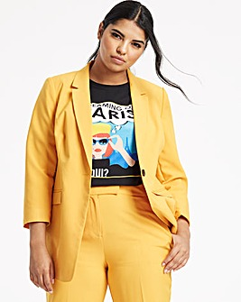 Mix and Match Ochre Fashion Blazer