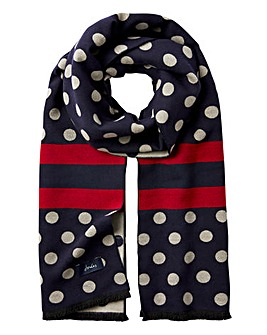 Joules Jacquelyn Spot Scarf