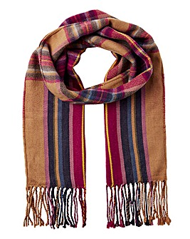 Joules Braken Ombre Check Scarf