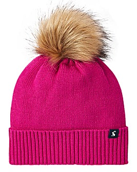 Joules Snowday Bobble Hat
