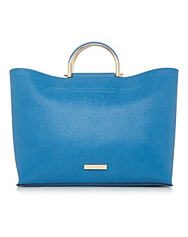 DARE TOP HANDLE TOTE BLUE