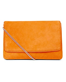 Hobbs Warwickshire Orange Clutch Bag