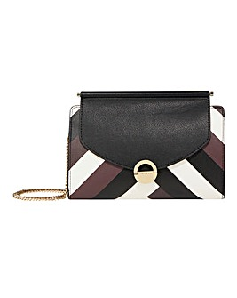 Fiorelli Kate Clutch Chevron Bag