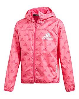 adidas Younger Girls Wind Jacket