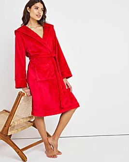 Pretty Secrets Luxury Hooded Fleece Gown