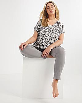 Pretty Secret Luxury Oversize Top and Hareem Trouser Set