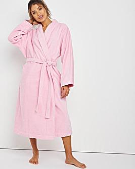 Pretty Secrets Towelling Gown L48