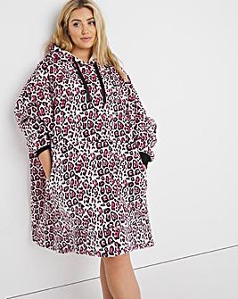 Pretty Secrets Oversized Blanket Hooded Dress