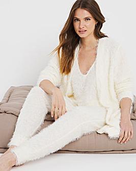 Pretty Secrets Fluffy Yarn 3 Piece Lounge Set