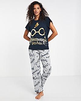 Harry Potter Short Sleeve Straight Leg Pyjama Set