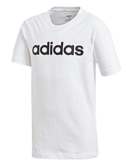 adidas Younger Boys Linear T-Shirt