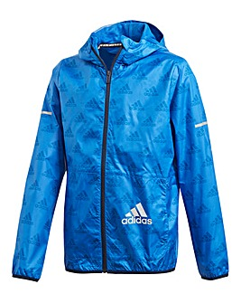 adidas Younger Boys Printed Jacket