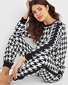 Pretty Secrets Jersey Side Stripe Twosie